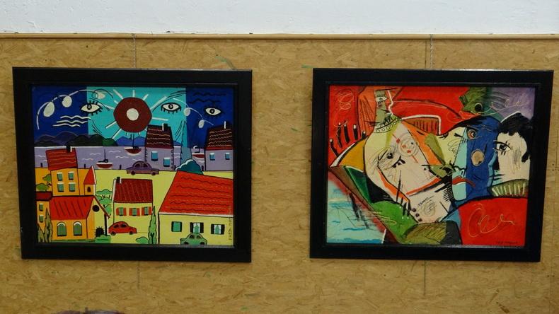 2015-08-01 : Exposition Fred Mazuir à Longchaumois (39) 094