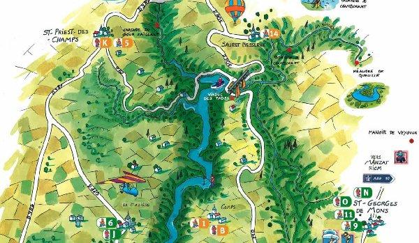 Le Viaduc des Fades (03) Carte