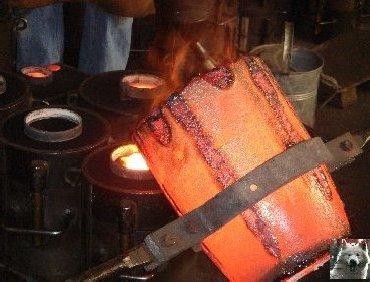 La Fonderie de cloches-Obertino - Labergement Ste Marie (25) 0024