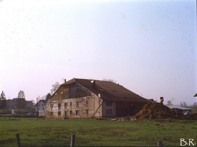 Coup de rétro sur la fruitière à Comté de Ney dans les années 1980 0011