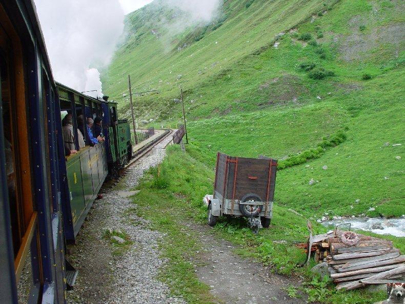 La Furka Bergstrecke ( Entre Uri et Valais ) 0041