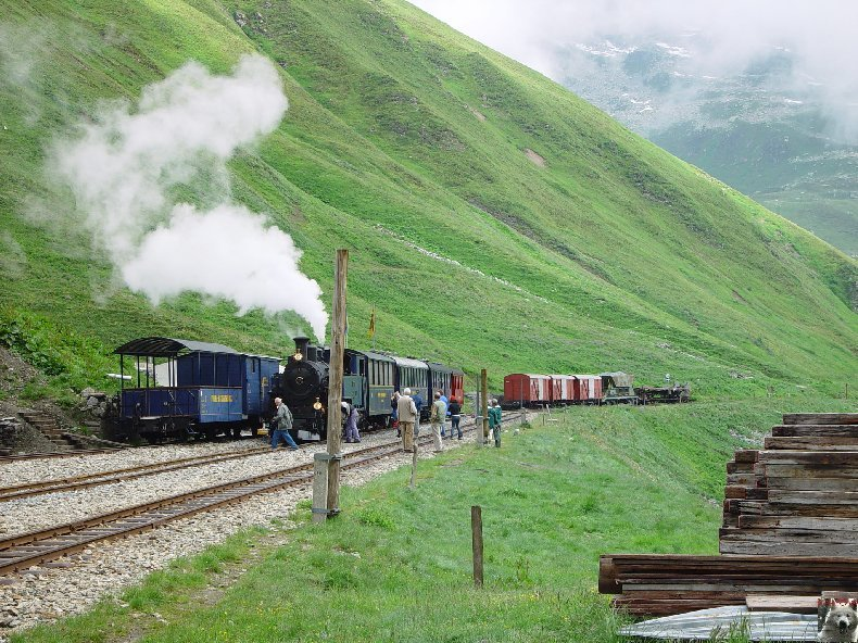 La Furka Bergstrecke ( Entre Uri et Valais ) 0046