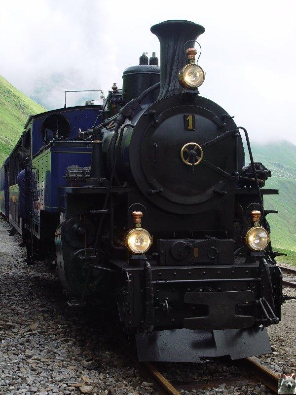La Furka Bergstrecke ( Entre Uri et Valais ) 0052