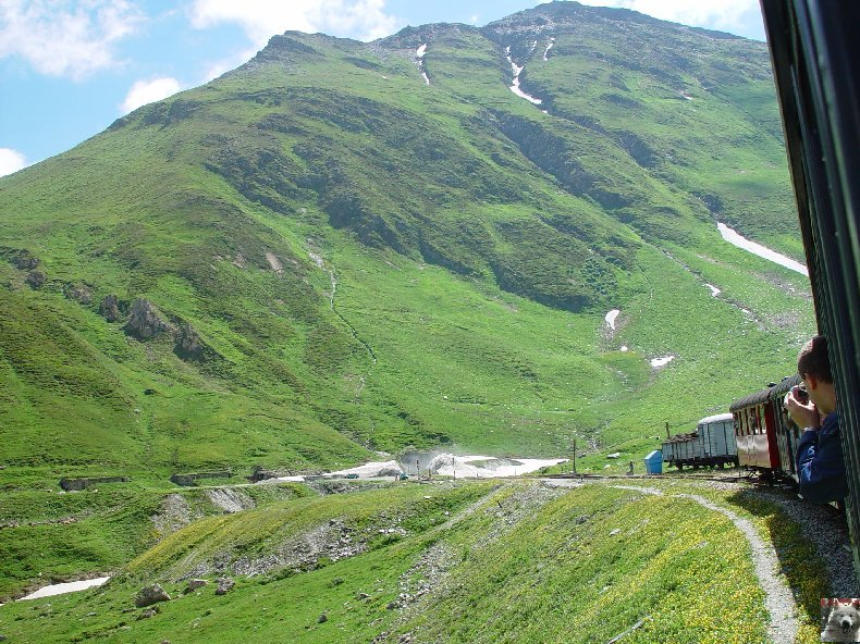 La Furka Bergstrecke ( Entre Uri et Valais ) 0060