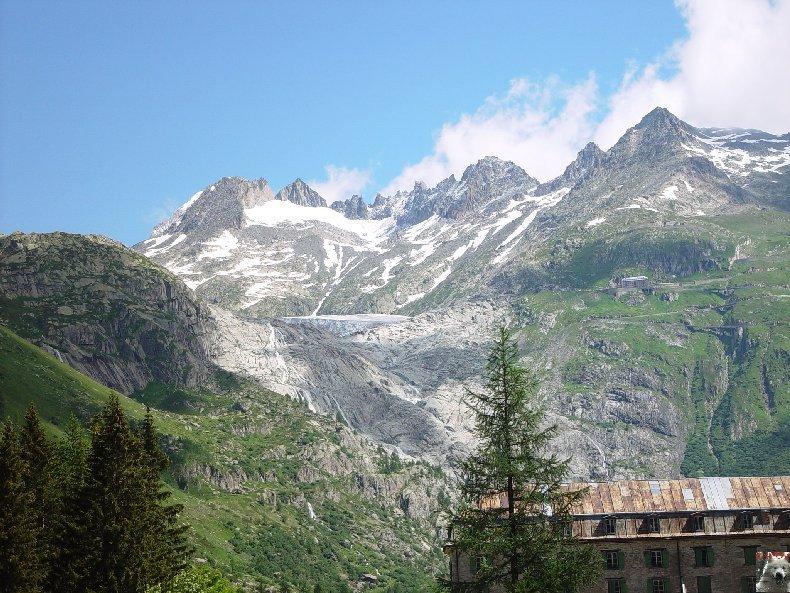 La Furka Bergstrecke ( Entre Uri et Valais ) 0071