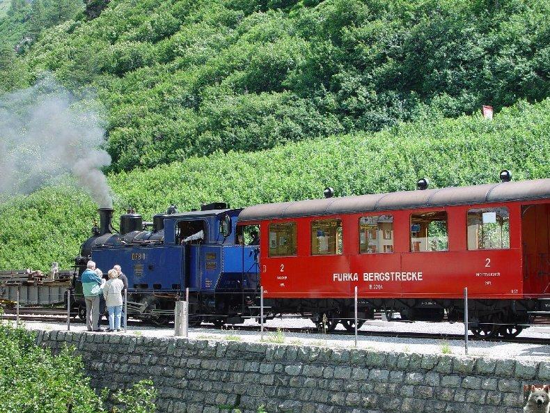 La Furka Bergstrecke ( Entre Uri et Valais ) 0077