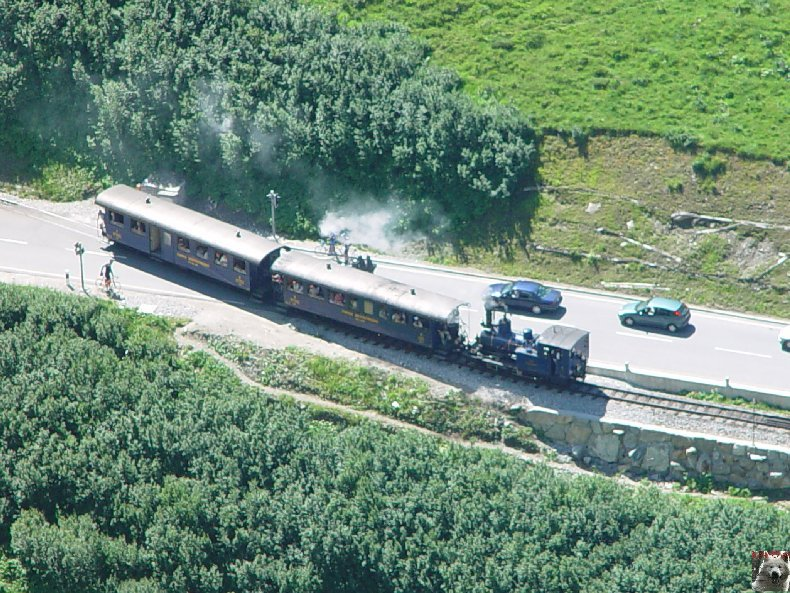 La Furka Bergstrecke ( Entre Uri et Valais ) 0089