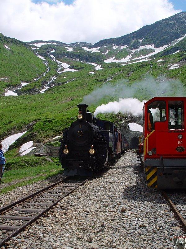 La Furka Bergstrecke ( Entre Uri et Valais ) 0091