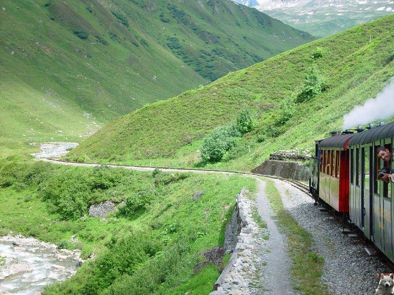 La Furka Bergstrecke ( Entre Uri et Valais ) 0097