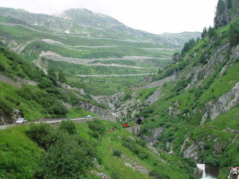 La Furka Bergstrecke ( Entre Uri et Valais ) 0114