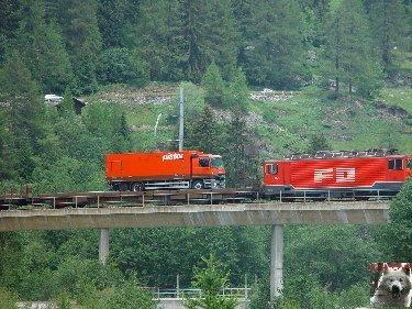 La Furka Bergstrecke ( Entre Uri et Valais ) 0117