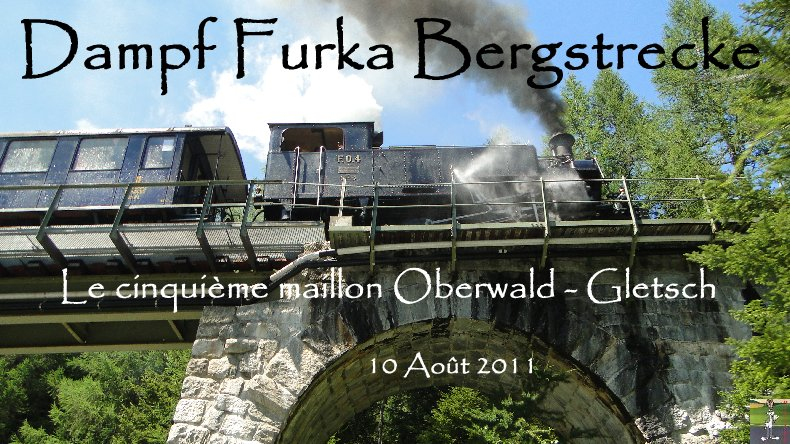 D'Oberwald à Gletch - Le dernier maillon de la Furkabahn Bergstrecke Logo_2