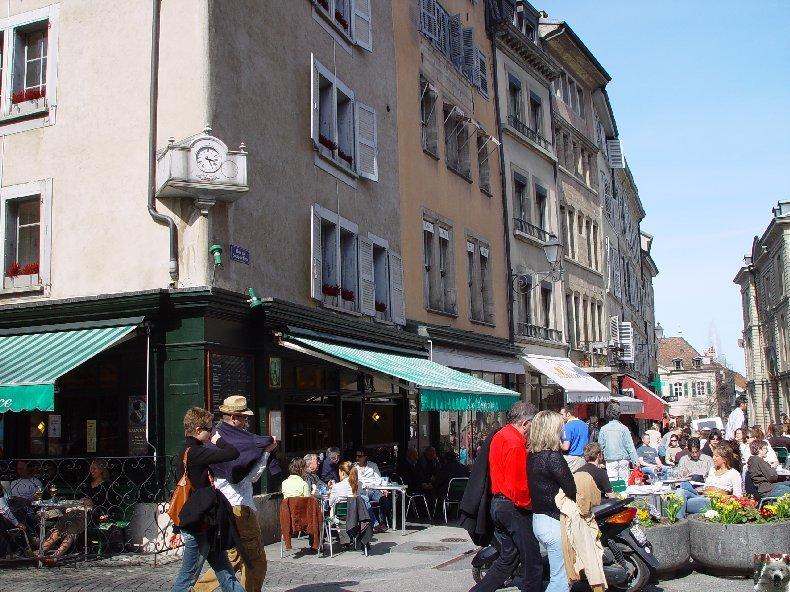 Trois hommes - une ville: Genève (GE) 0038