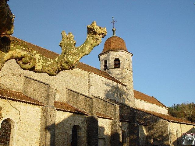 045 - Gigny (39) L'abbatiale Saint-Taurin 0001