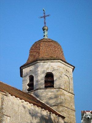 045 - Gigny (39) L'abbatiale Saint-Taurin 0003
