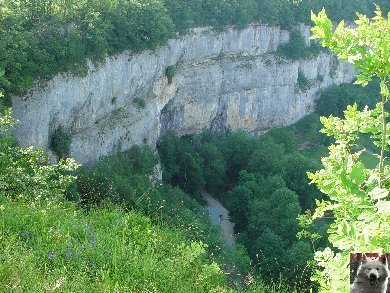 Les grottes de Baume les Messieurs (39) 0003