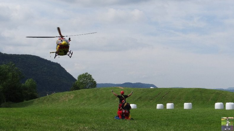 Exercice de sauvetage en montagne - 14 juin 2014 001