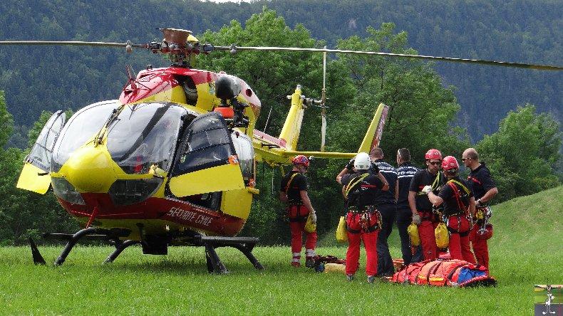 Exercice de sauvetage en montagne - 14 juin 2014 035
