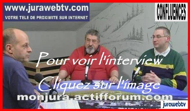 Interview de René JV par l'équipe de Jurawebtv.com - 14 mars 2014 V2