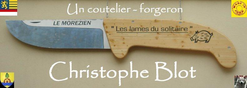 Christophe Blot - Coutelier-Forgeron à Morez (39) Logo
