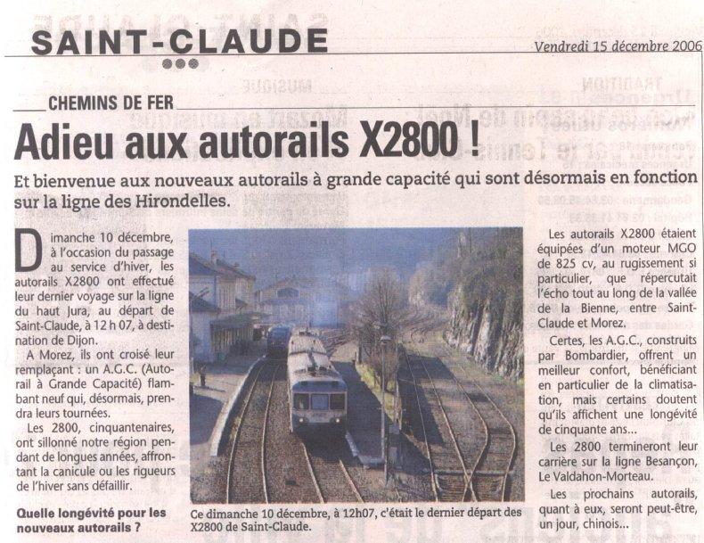 La ligne des Hirondelles - 39 2006-12-15