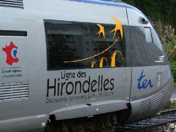 """De Dole à St-Claude par la ligne des """"hirondelles""""  Ligne_hirondelles_logo"""