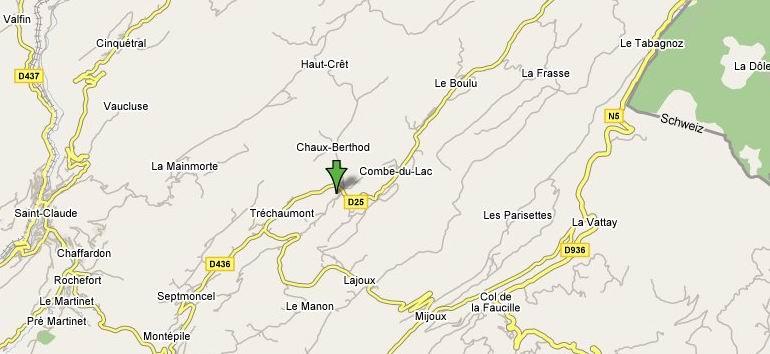 Le Musée du Lapidaire à Lamoura. (39) 0003