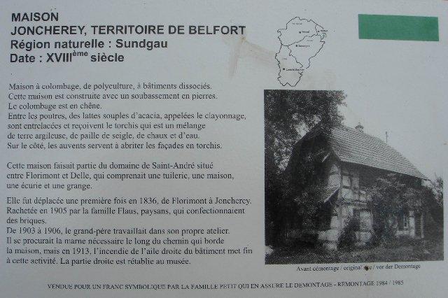 Musée de Plein Air des Maisons Comtoises - Nancray (25) 0018