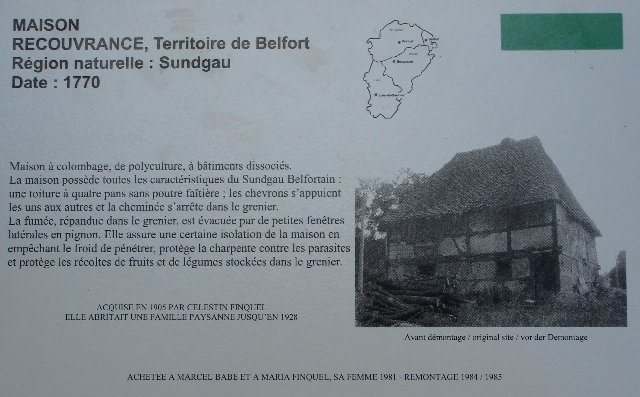 Musée de Plein Air des Maisons Comtoises - Nancray (25) 0027