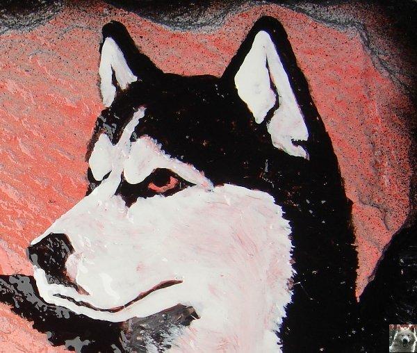 2007-08-16 : Patrick Verdier peint sur ardoise, sur peau, sur carrosserie ... 0001