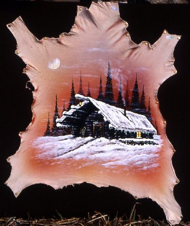 2007-08-16 : Patrick Verdier peint sur ardoise, sur peau, sur carrosserie ... 0006