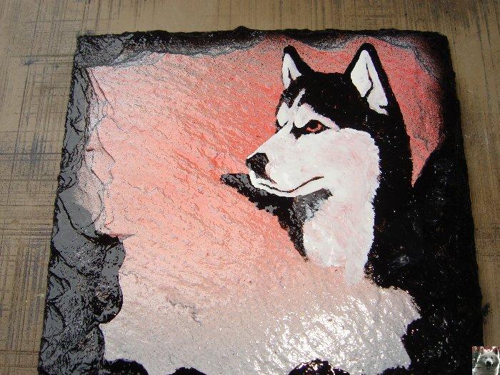 2007-08-16 : Patrick Verdier peint sur ardoise, sur peau, sur carrosserie ... 0011