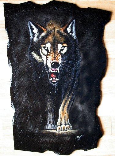 2007-08-16 : Patrick Verdier peint sur ardoise, sur peau, sur carrosserie ... 0025