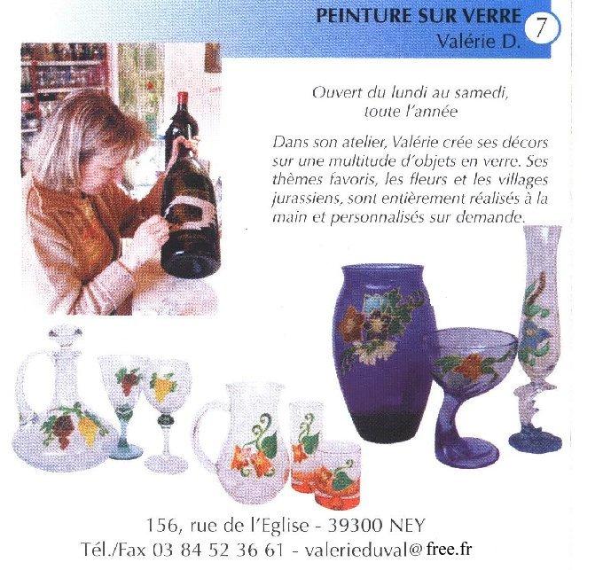 Valérie peint sur le verre - Ney (39) 10 juin 2008 0020
