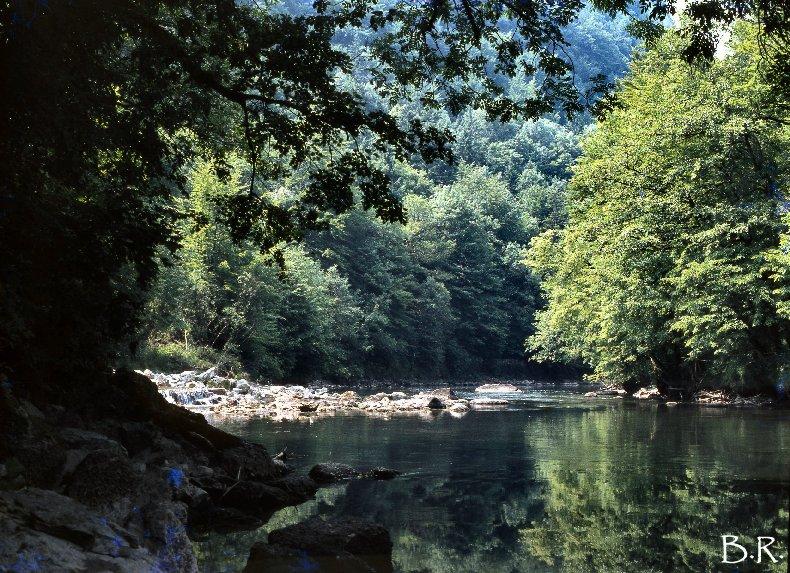 Le Ravin Mathieu, la Rivière d'Ain 0003