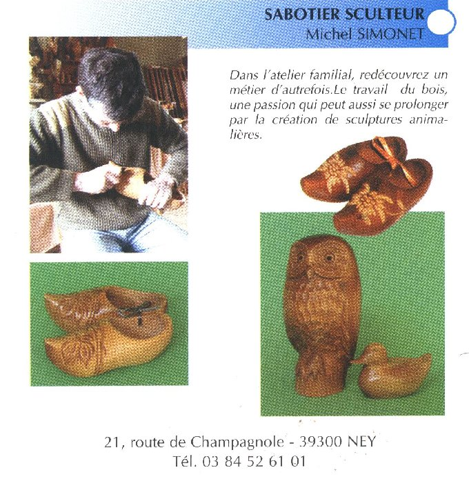 Michel Simonet - le sabotier de Ney - 10/06/2008 0022