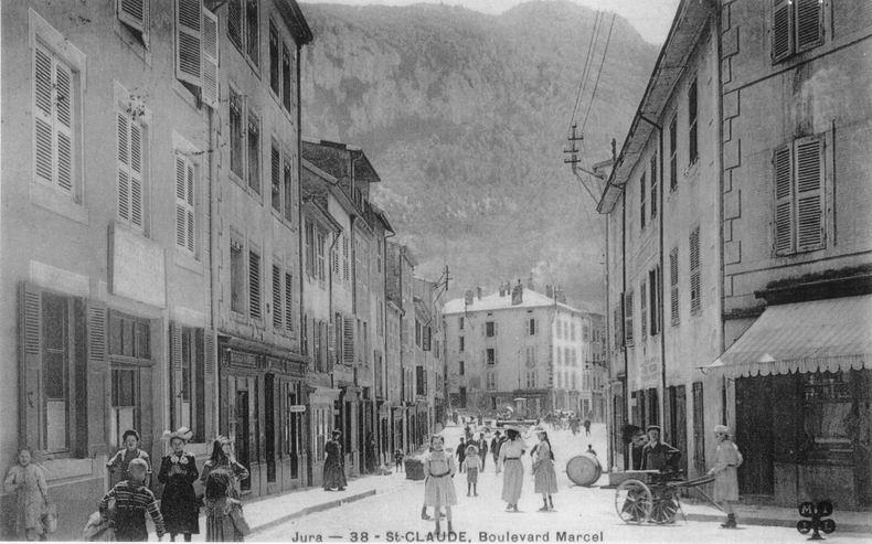 Saint-Claude au début du XX siècle (39) 0039