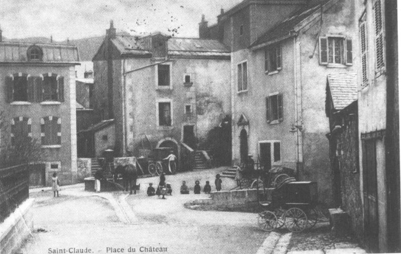 Saint-Claude au début du XX siècle (39) 0060a