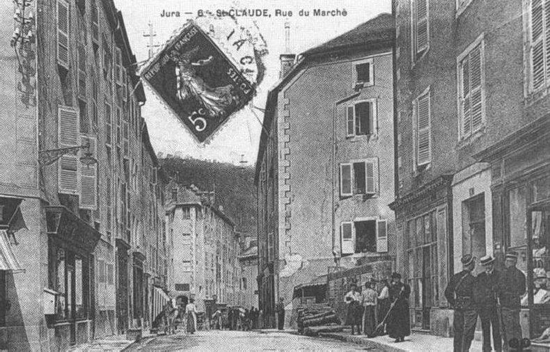 Saint-Claude au début du XX siècle (39) 0061