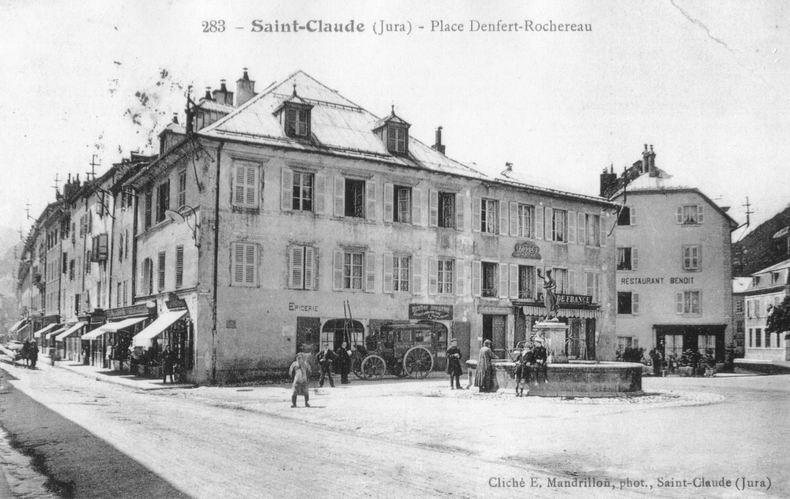 Saint-Claude au début du XX siècle (39) 0066