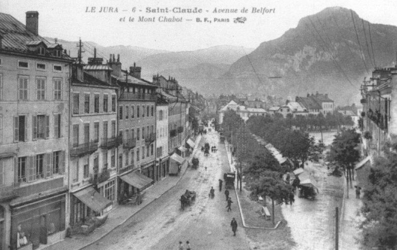 Saint-Claude au début du XX siècle (39) 0075