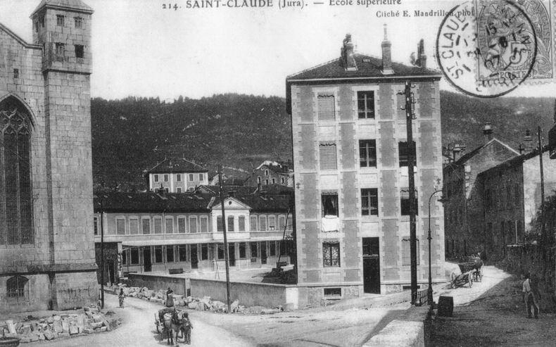 Saint-Claude au début du XX siècle (39) 0100