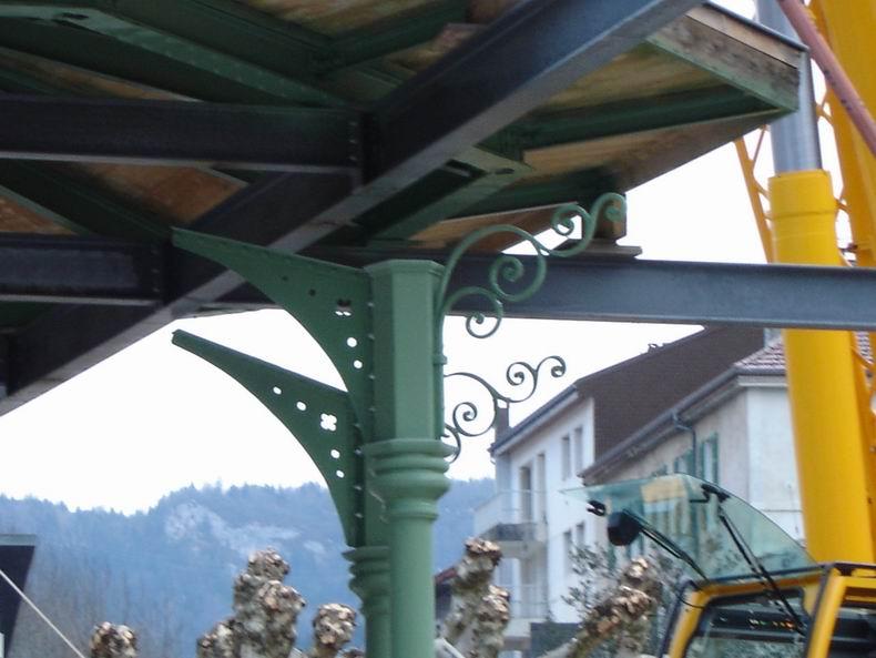 Restauration du kiosque à musique du Truchet - St-Claude 0010