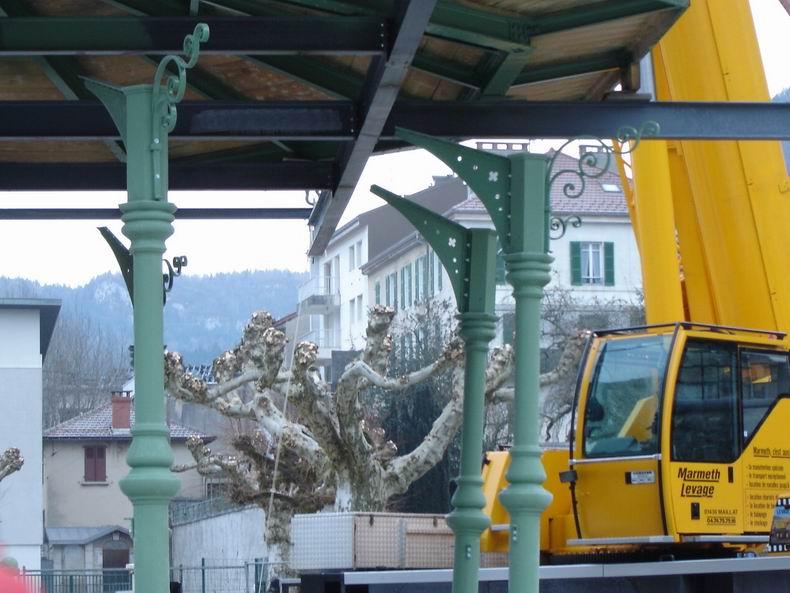 Restauration du kiosque à musique du Truchet - St-Claude 0012