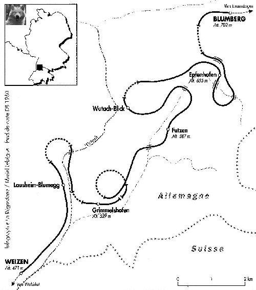 Sauschwänzlebahn Une ligne militaire aujourd'hui reconvertie 0002