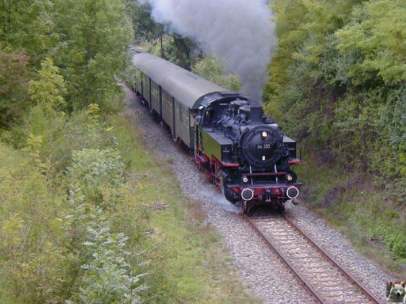 Sauschwänzlebahn Une ligne militaire aujourd'hui reconvertie 0004