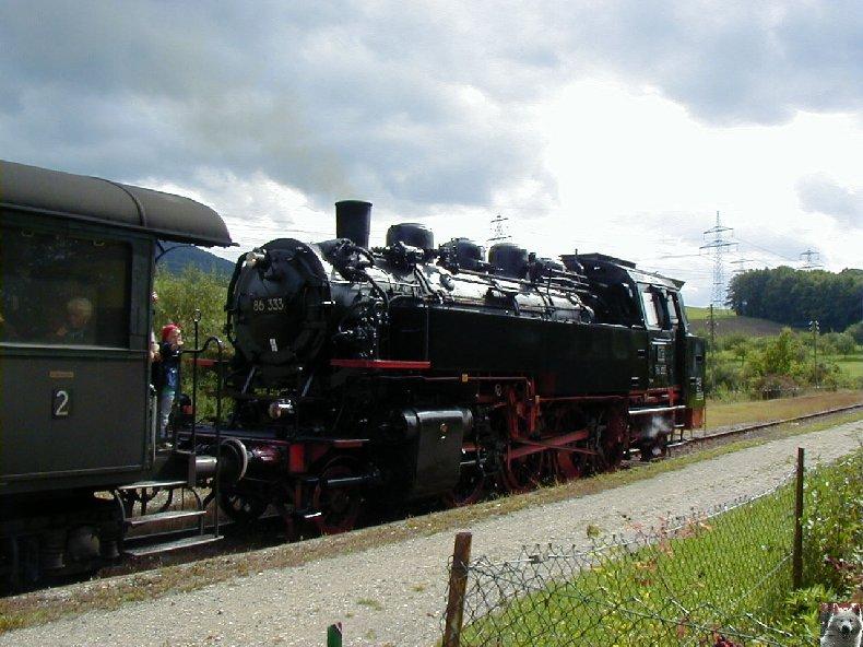 Sauschwänzlebahn Une ligne militaire aujourd'hui reconvertie 0021