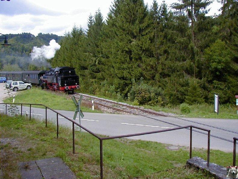 Sauschwänzlebahn Une ligne militaire aujourd'hui reconvertie 0028