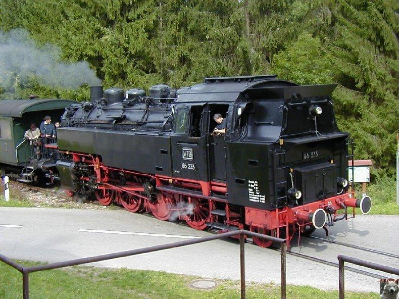 Sauschwänzlebahn Une ligne militaire aujourd'hui reconvertie 0029