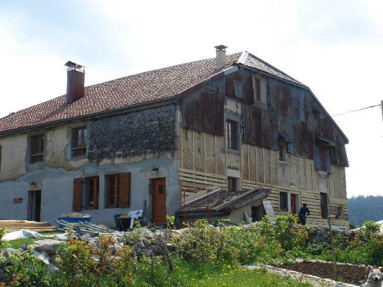 Les Tavaillons dans le Ht-Jura - Les Bouchoux - La Pesse (39 T0006